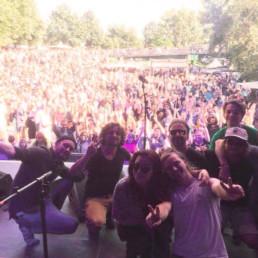 Die deutschfranzösische Band Passepartout spielte im Sommer einen heftigen Gig beim Fährmannsfest